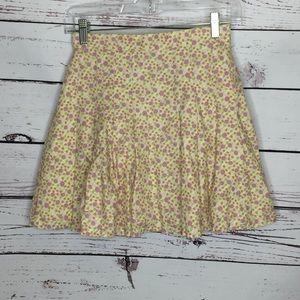 American Girl floral skirt